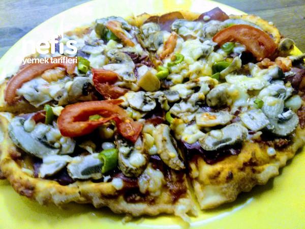Füme Etli Boşnak Pizzası(ince Hamur)