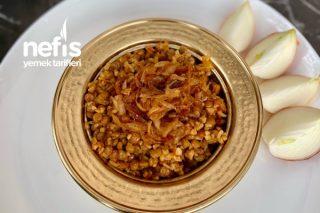 Karamelize Soğanlı Pilav Tarifi