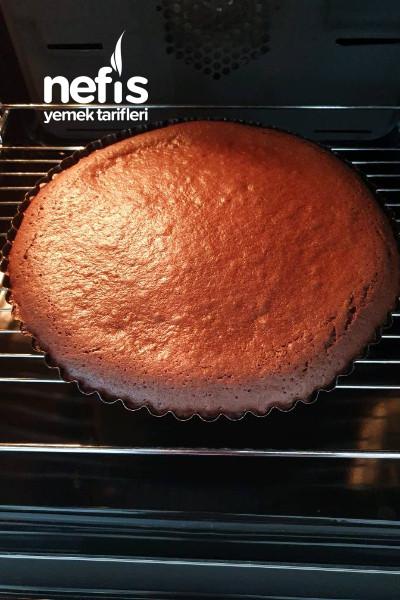 Karamelli Cıkolatalı Tart Kek
