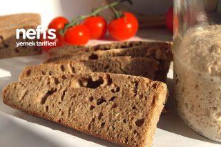 Tam Buğday Unlu Ekşi Mayalı Ekmek Tarifi
