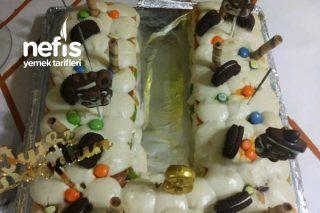 U Harfli Doğum Günü Pastası Tarifi