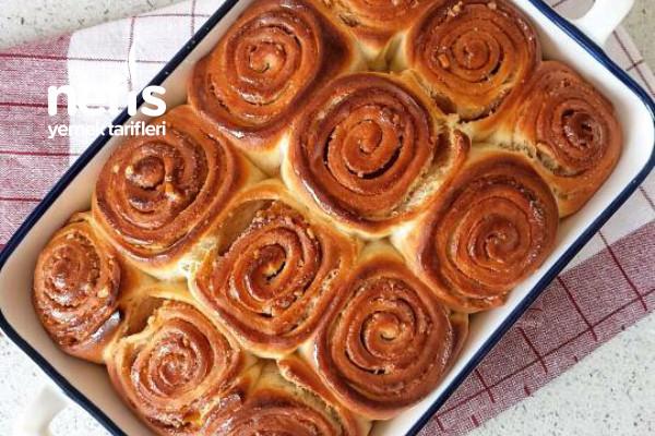 Yumuşacık Dokusuyla Tarçınlı Çörek