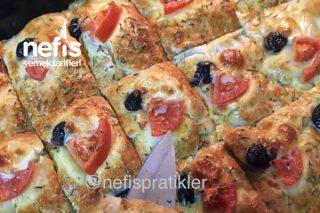 Az Malzemeli Çok Lezzetli Pizza Tarifi