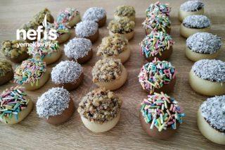 Çikolatalı Mini Kurabiyeler Tarifi