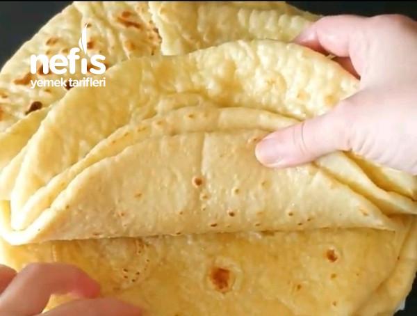 Çok Pratìik Tavada Patatesli Bazlama Tarifi (Videolu)