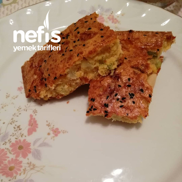 Fit Unsuz Mercimekli Pırasalı Kek Kıvamında Ekmek