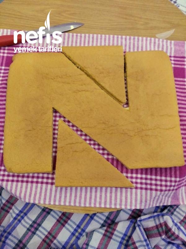 Nurumun Pastası Harf Yaş Pasta