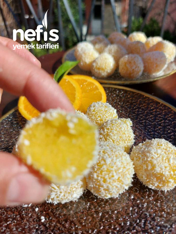 Rafine Şekersiz Portakallı Tatli