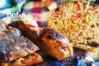 Sağlıklı Ekşi Mayalı Domatesli Zeytinli Ekmek Tarifi