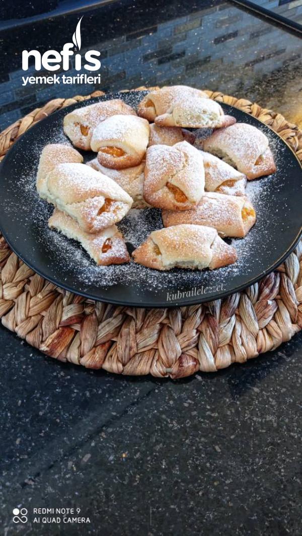 Şeftali Marmelatli Kurabiye