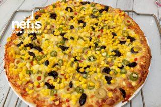 Şipşak Tulum Peynirli Pizza Tarifi