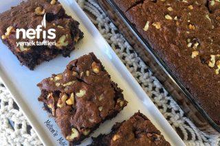 Sufle Tadında Bol Çikolatalı Cevizli Kek Tarifi