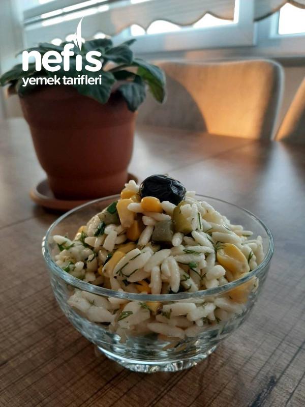 Yeşil Soğanlı Arpa Salatası