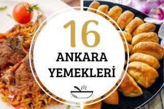 Ankara Yemekleri: Başkent Mutfağından16 Tarif Tarifi