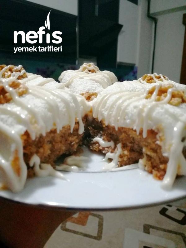 Beyaz Çikolata Soslu Kokosh Kıbrıs Tatlısı (Kek Kalıbında)