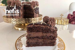 Çikolatalı Yaş Pasta Tarifi