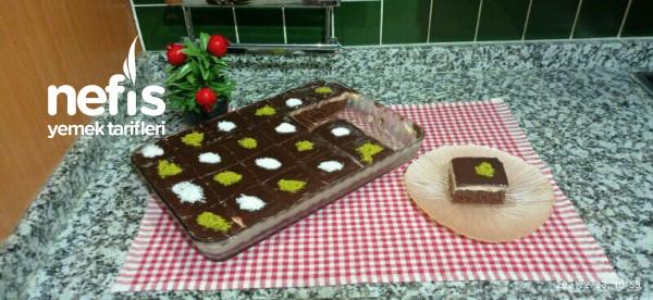 Kahveli Çikolatalı Pasta (Videolu)
