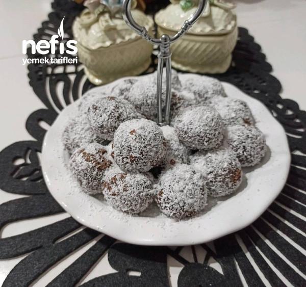 Şekersiz,Muzlu Turufflar,(Az Malzemeli, Çok Lezzetli)