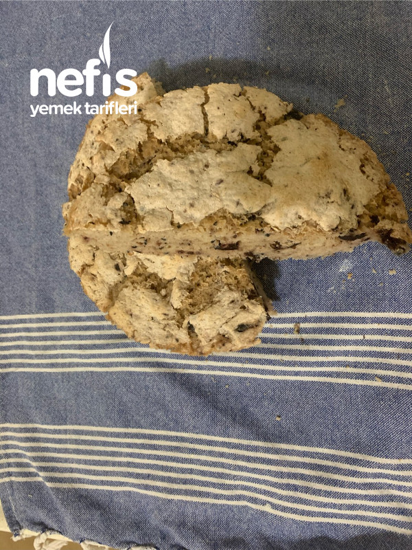 Zeytinli Çörek Otlu Ekmek (Çölyak Diyetine Uygun)