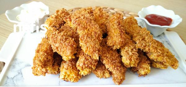 Kfc ,popoyes Dışarda Yemeye Son ! Çıtır Çıtır Tavuk Nugget