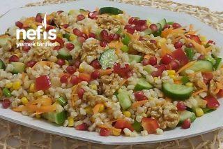 Nefis Buğday Salatası  ( Gün Salatası ) Tarifi