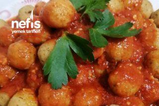 Patates Ve Bulgurlu Misket Köfte Tarifi