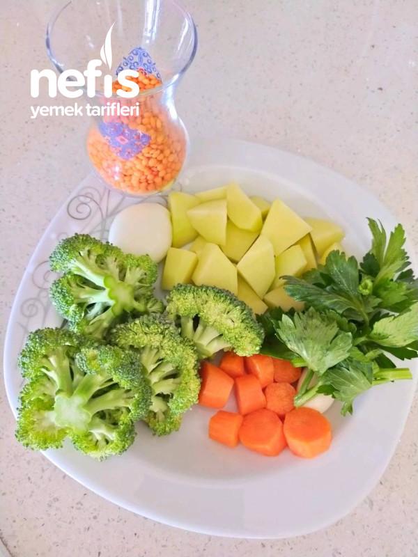 Bol Sebzeli Mercimek Çorbası
