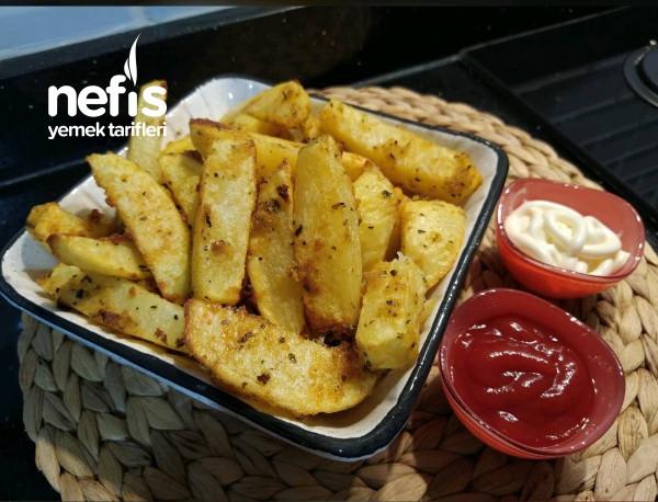 Çıtır Patates, Dışı Çıtır İçi Yumuşacık (Videolu)