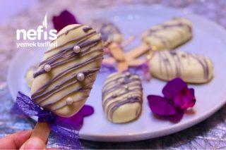 Dondurma Seklinde Truff Kek(Hazır Kekten) Tarifi