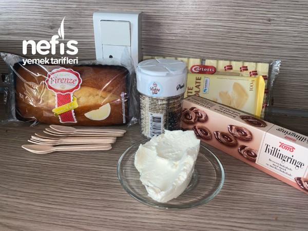 Dondurma Seklinde Truff Kek(hazir Kekden)