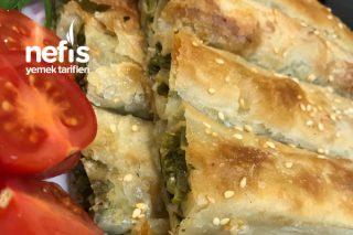 El Açması Ispanaklı Börek (Çıtır, Çıtır) Tarifi