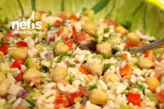 Nohutlu Pirinç Salatası Tarifi