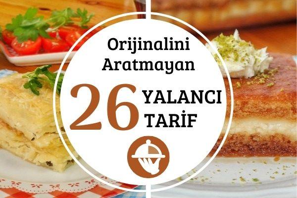 Orijinalini Aratmayan 26 Yalancı Tarif Tarifi