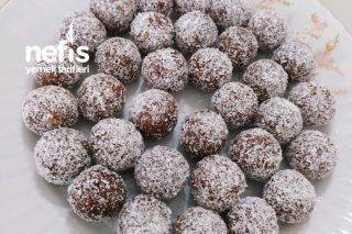 Şekersiz Muzlu Trufflar (Çok Pratik) Tarifi