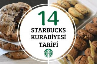 Starbucks Kurabiye Tarifleri: Birebir Tutan 14 Çeşit Tarifi