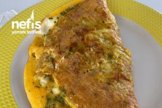 Altı Çıtır Patatesli Omlet Tarifi