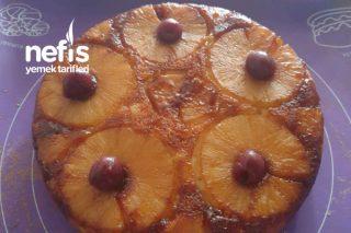 Ananaslı Ters Yüz Kek Tarifi