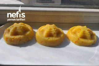 Az Malzemeyle Portakallı İrmik Helvası Tarifi