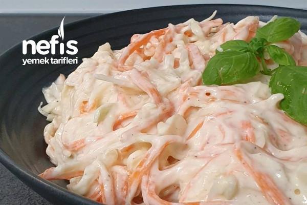 Coleslaw Salatası (Muhteşem Bir Tat)