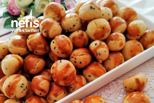 Çörek Otlu Minik Kurabiye Hem Tatlı Hem Tuzlu Çerez Gibi