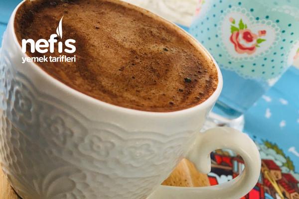Sade Türk Kahvesi Nasıl Bol Köpüklü Olur