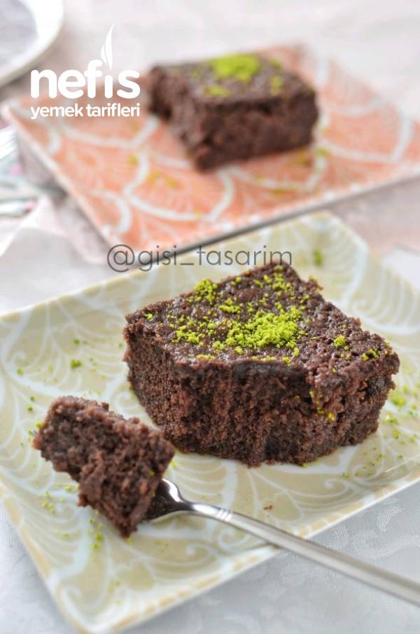 Tahinli Çikolatalı Islak Kek