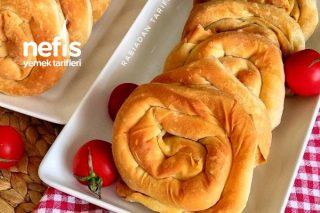 Çıtır Çıtır El Açması Ispanaklı Gül Böreği Tarifi