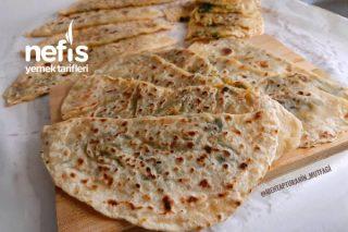 Köy Usulü Mayasız Ispanaklı Peynirli Gözleme( Videolu) Tarifi