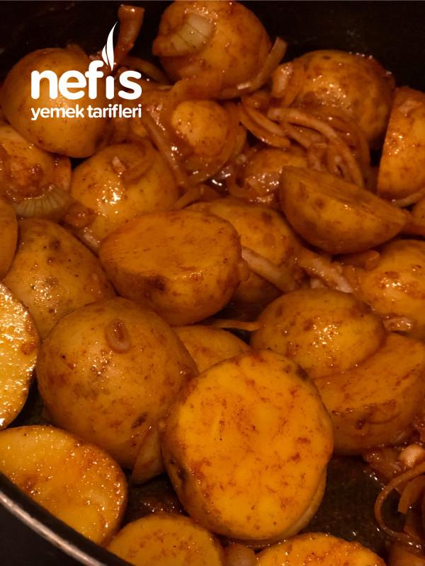Patates Eşliğinde Tavuk Şiş