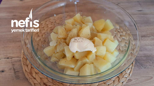 Patates Püreli Tavuklu, Mantar Sote. Farklı Sunum Şahane Lezzet (Videolu)