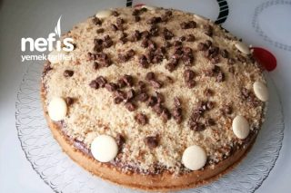 Pişmeyen Köstebek Pasta (Hazır Pandispanyadan) Tarifi