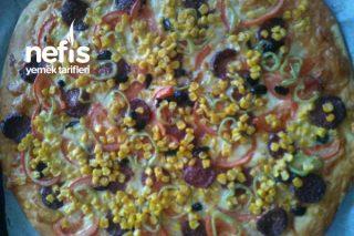 Tek Tarif İle Yumuşacık Pizza Ebe Çöreği Ve Çiğ Börek Hamuru Tarifi