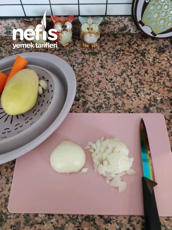 Yeşil Mercimek Yemeği (Patatesli Havuçlu)