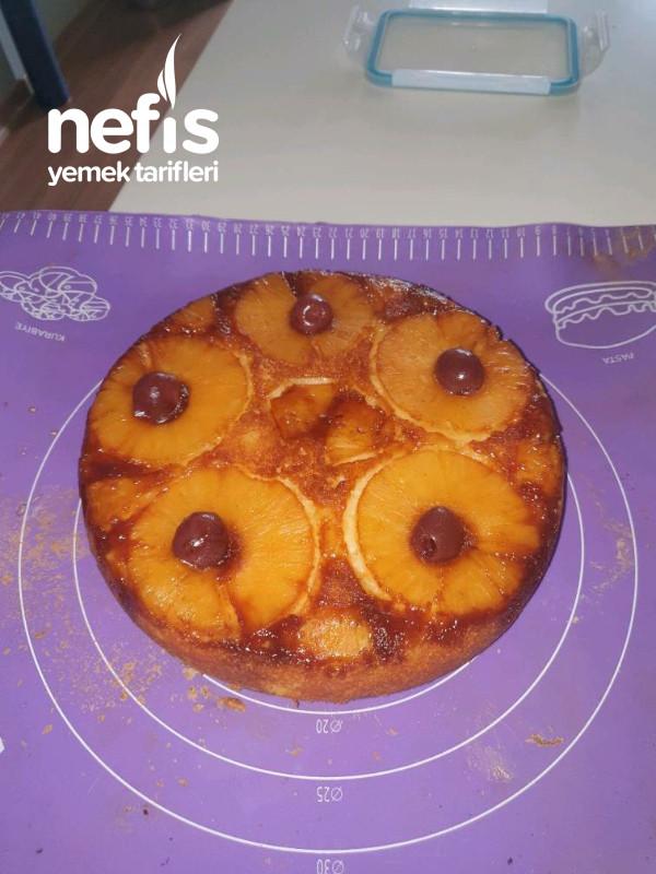 Ananaslı Ters Yüz Kek